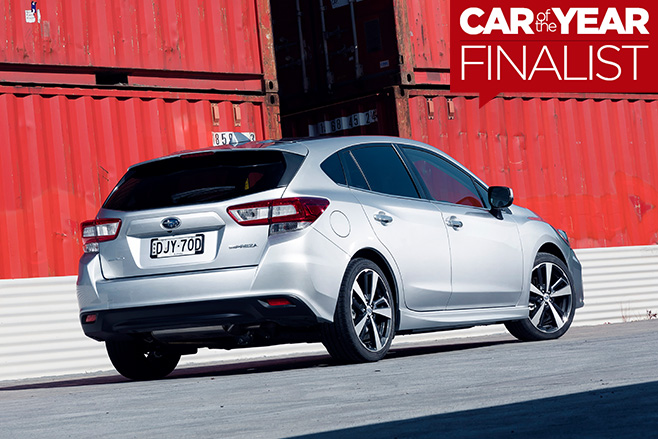 2017-Subaru -Impreza -rear