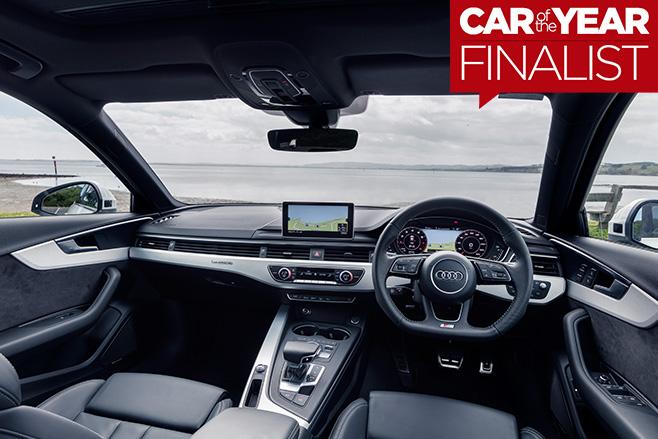 2017-Audi -A4-interior