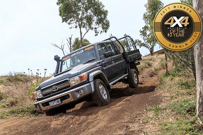 Toyota -Landcruiser -79-dual -cab -ute -dirt
