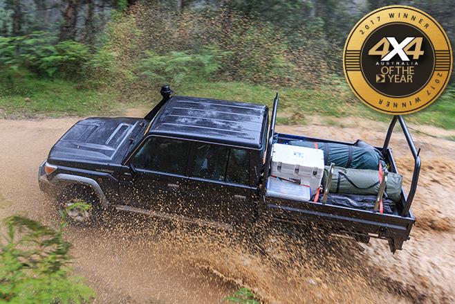 Toyota -Landcruiser -79-dual -cab -ute -mud -splash