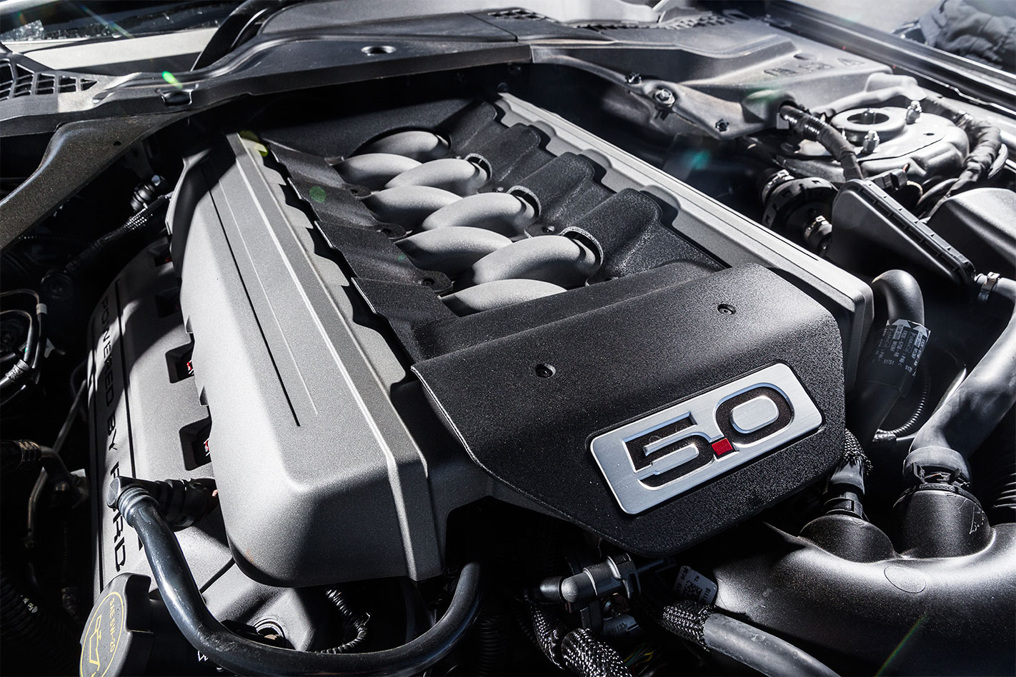 2017 Ford Mustang engine