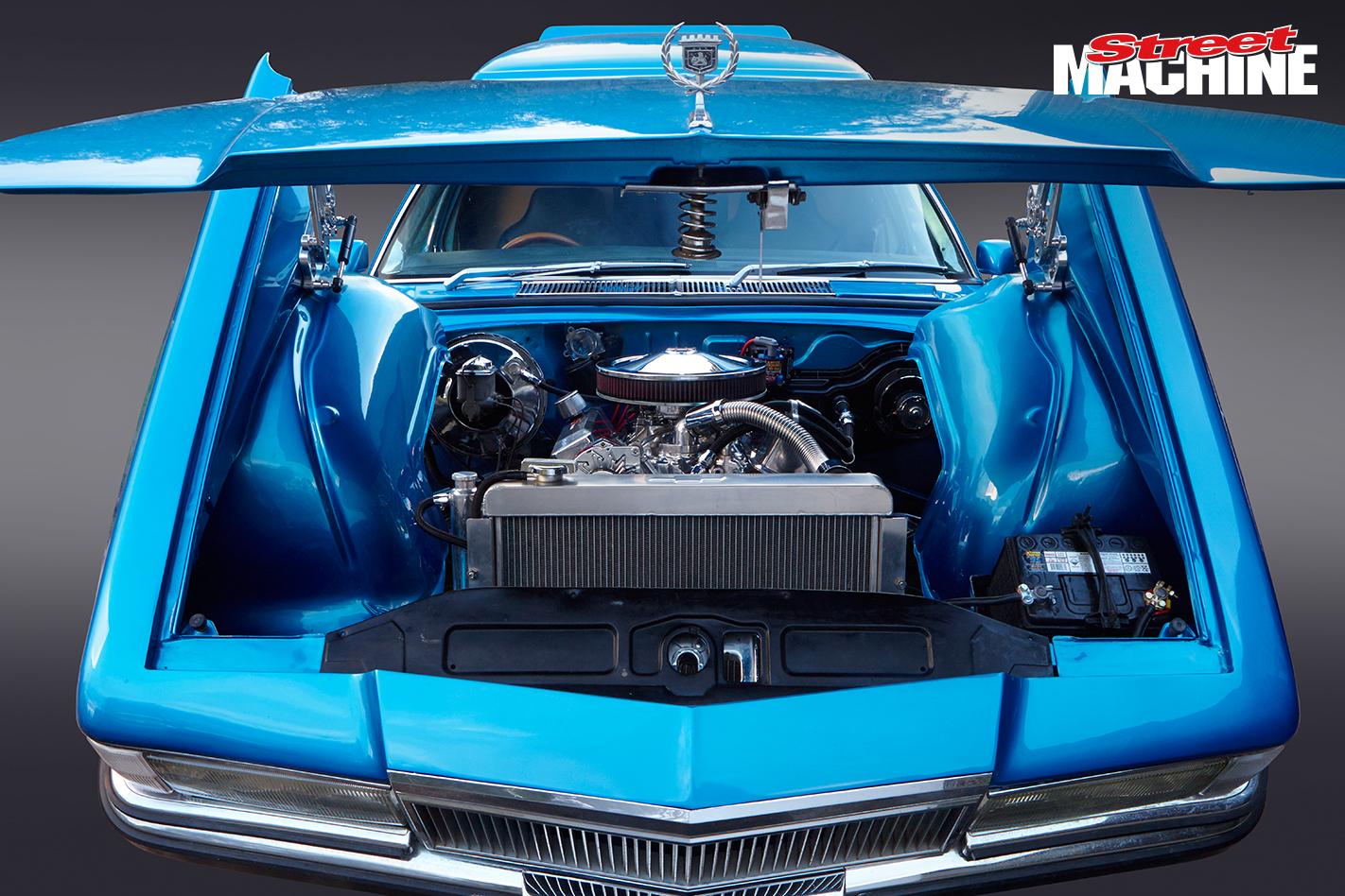 Holden Panel Van Blue Tilt