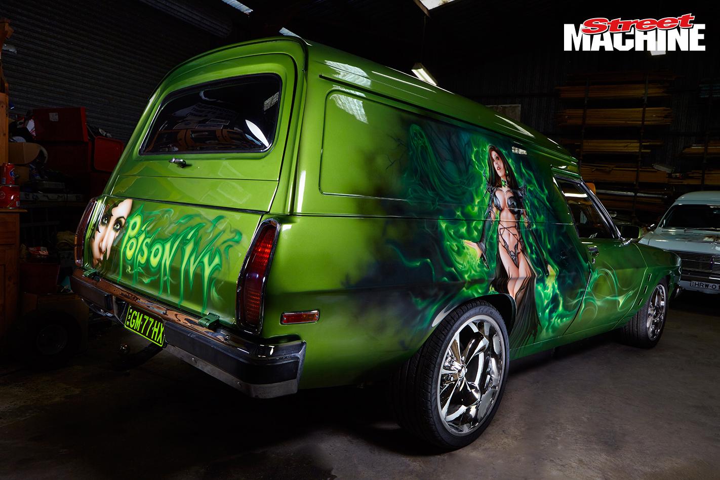 Holden Panel Vans Poison Ivy 1