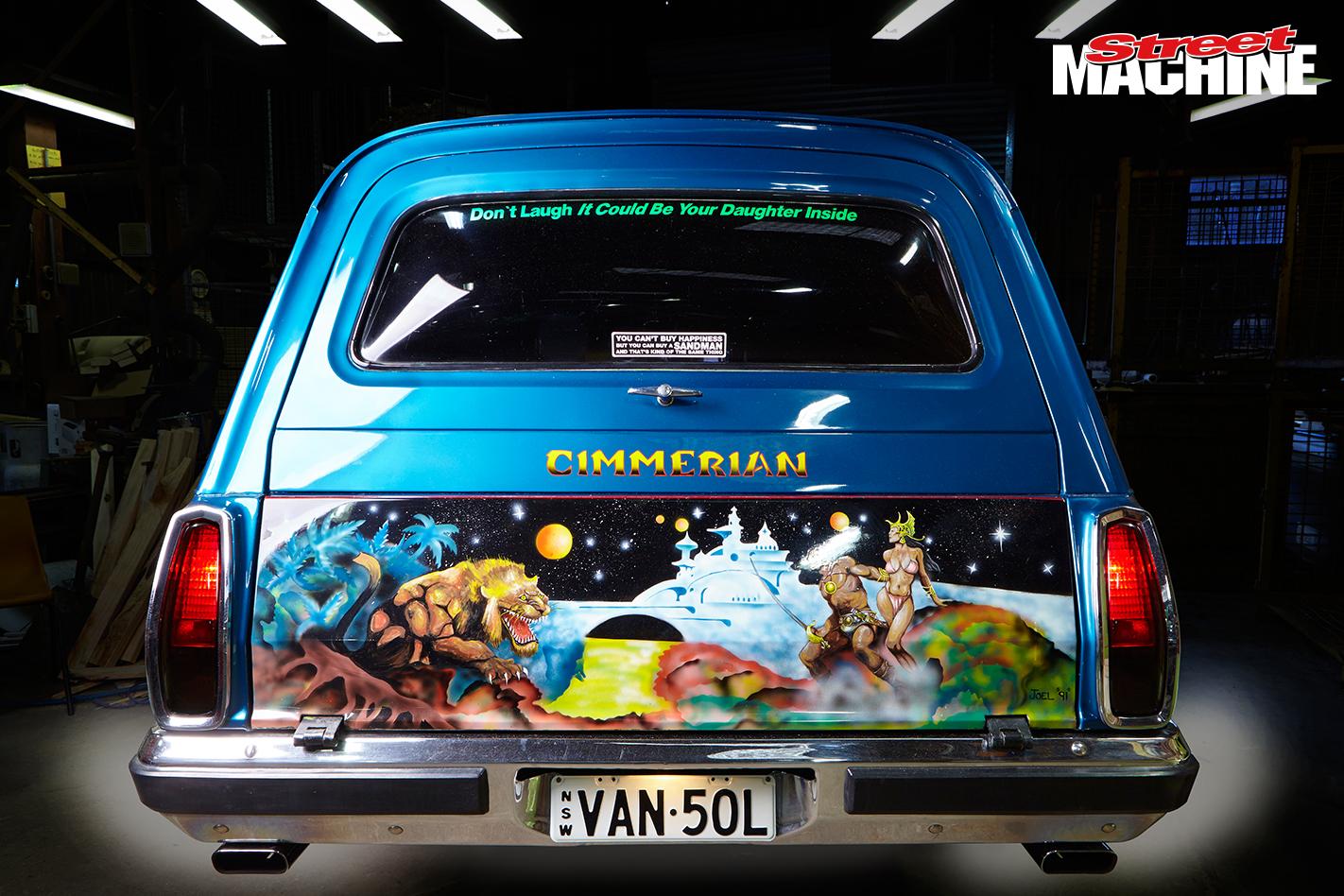 Holden Panel Van Cimmerian 2