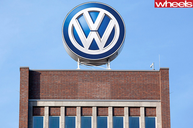 Volkswagen -sign -on -building