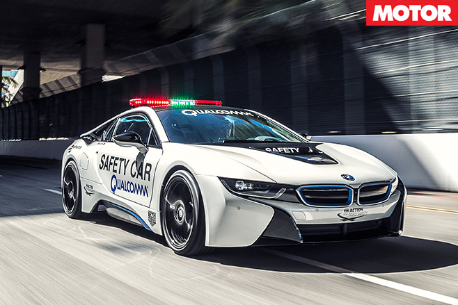 Safety -car -bmw -i8