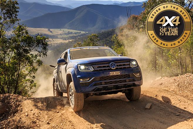 Volkswagen Amarok uphill