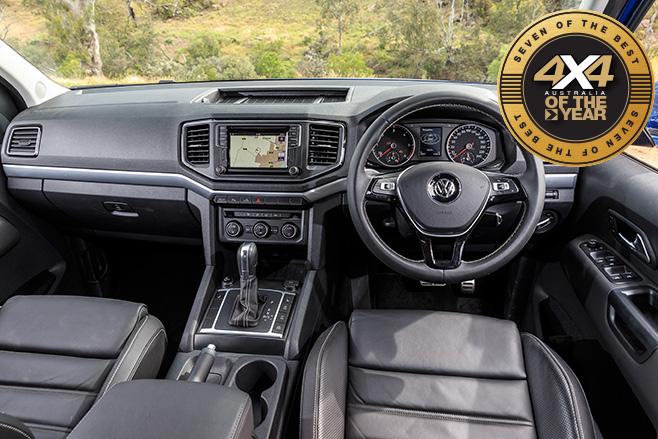 Volkswagen Amarok interior