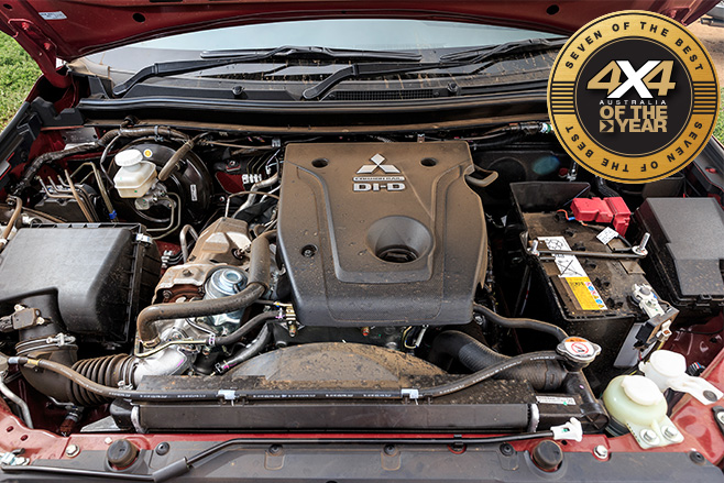 Mitsubishi Pajero Sport GLS engine