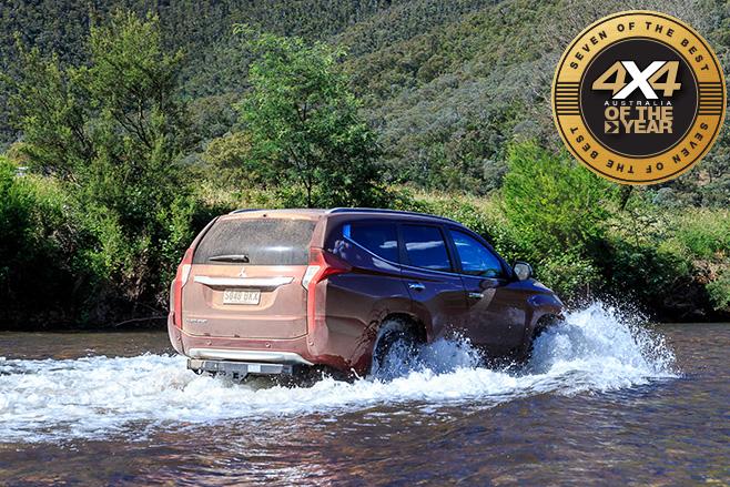 Mitsubishi Pajero Sport water driving