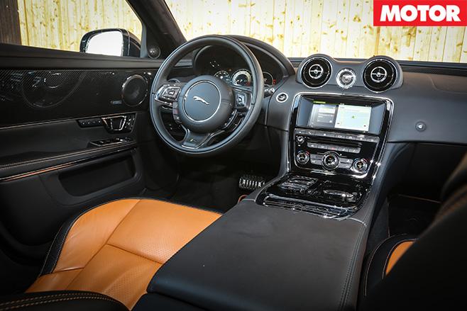 Jaguar XJR interior