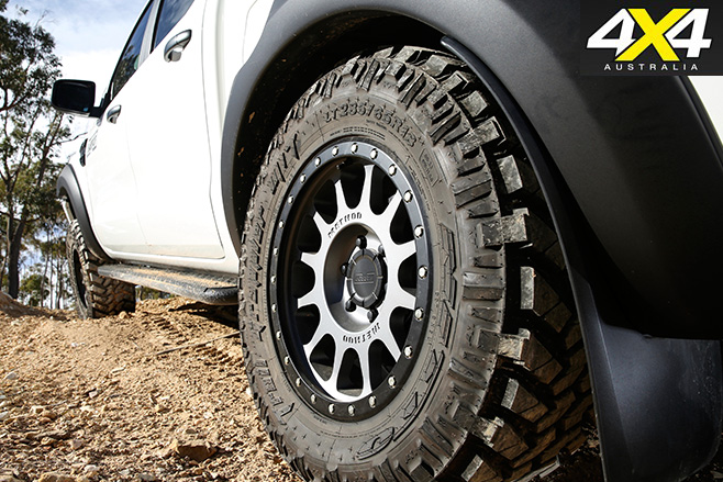 Harrop Ford Ranger wheels