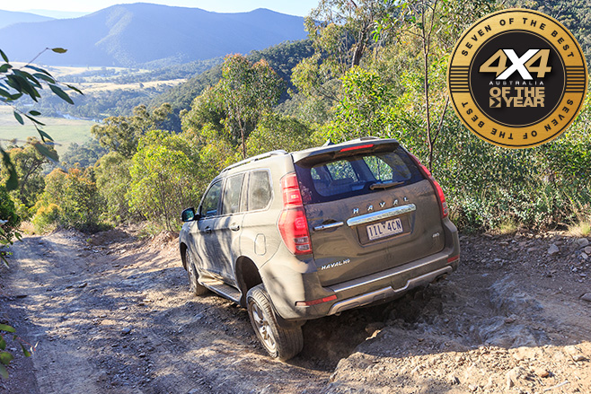 Haval H9 downhill