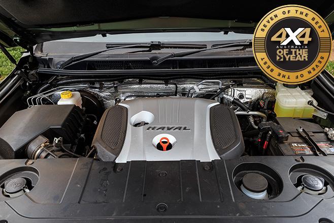 Haval H9 Luxury engine