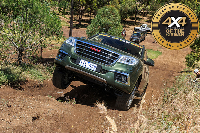 Haval H9 offroad