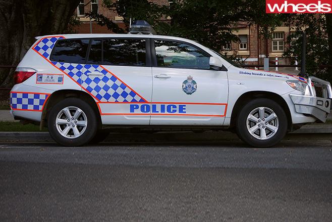 Queensland -Police -Toyota -Kluger