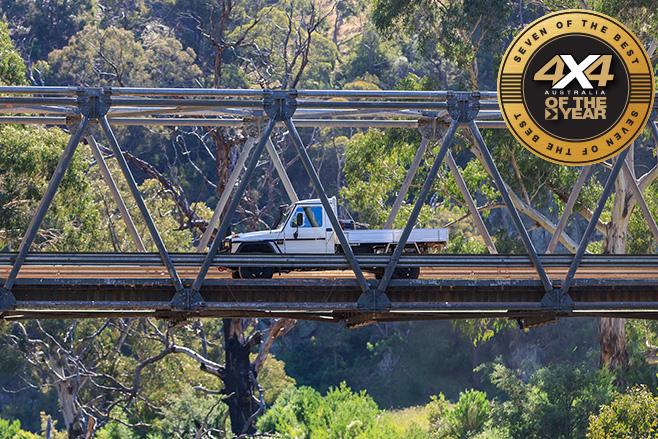 Merc G300 bridge driving