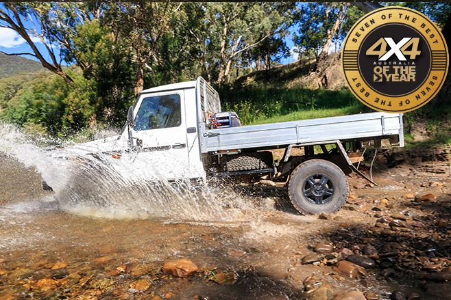 Mercedes-Benz G-Professional G300 water driving