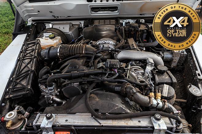 Mercedes-Benz G-Professional G300 engine