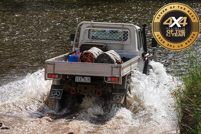 Merc G300 rear water