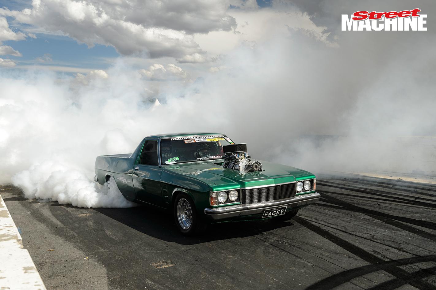 HZ Holden Blown Burnout PAGEY