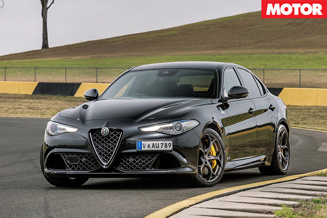 2017 Alfa Romeo Giulia QV still