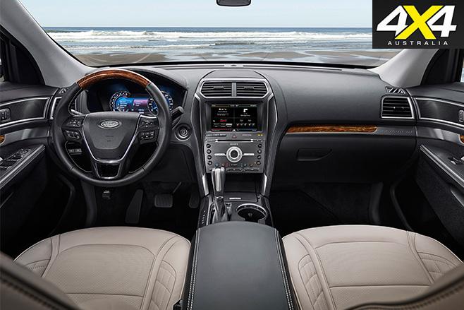 Ford Explorer interior