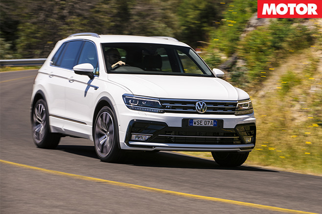 2017 VW Tiguan 162TSI front turning