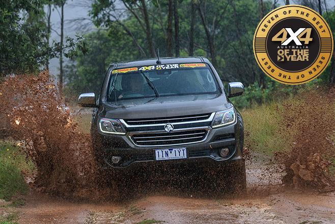 Holden Colorado LTZ front -mud