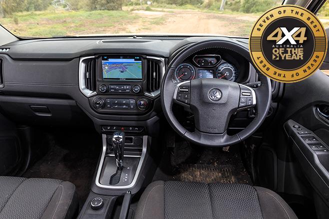 2017 4x4oty Holden Colorado interior