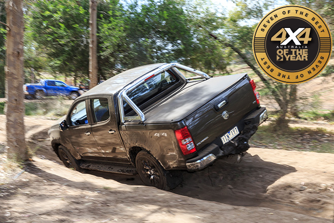 Holden Colorado LTZ rear driving trails