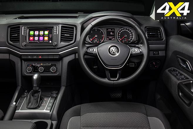 Volkswagen Amarok four-cylinder interior