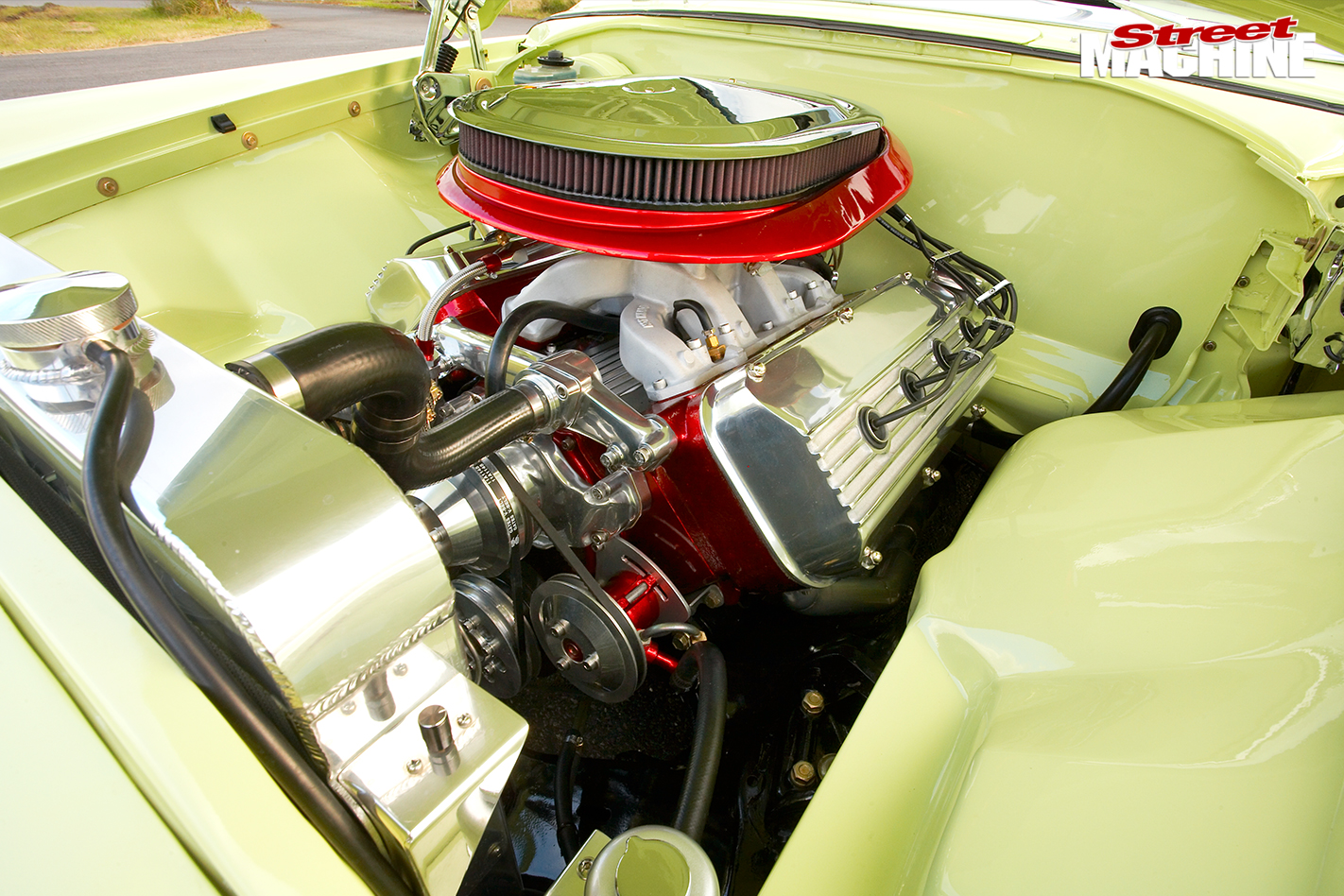 Desoto -engine -bay