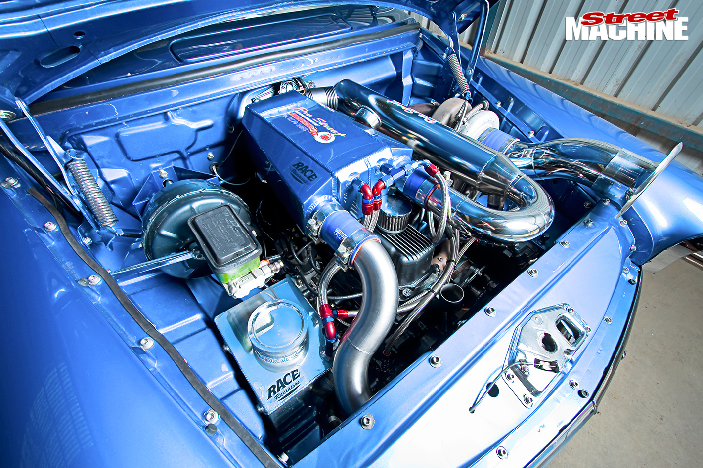 Fc -holden -engine -bay