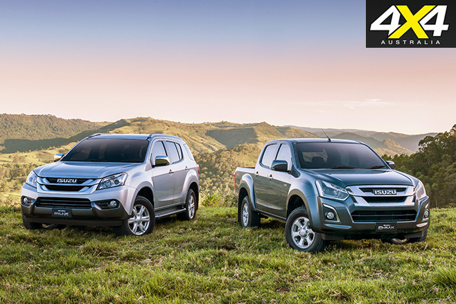 Isuzu D-Max and MU-X