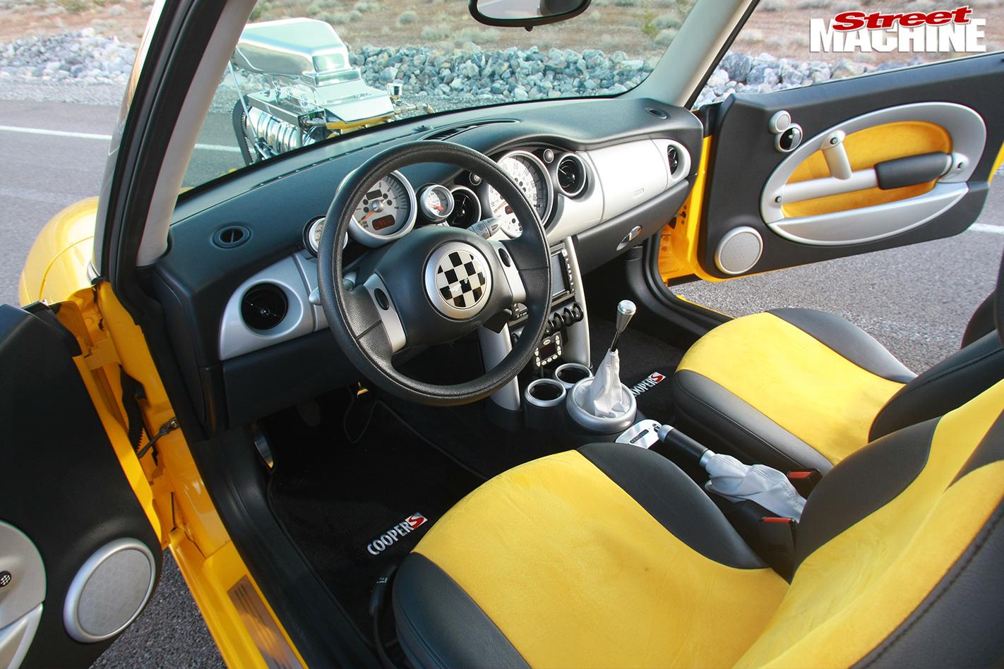 Mini -cooper -interior