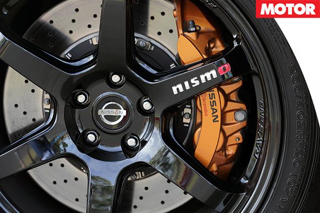 2017 Nissan GT-R Nismo wheels
