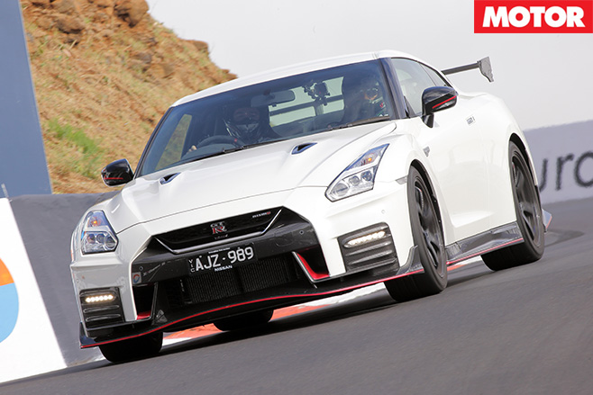 2017 Nissan GT-R Nismo driving