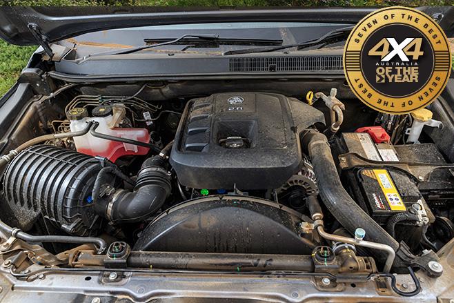 Holden Trailblazer engine