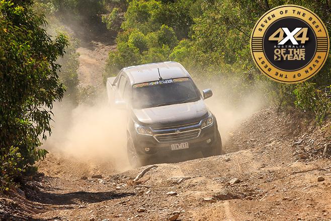 Holden Trailblazer dusty