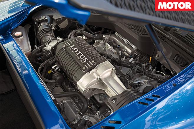 2017 Lotus Exige Sport 380 engine