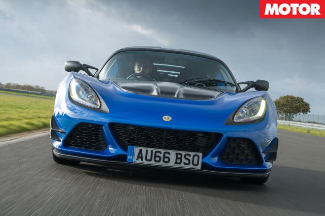 2017 Lotus Exige Sport 380 front