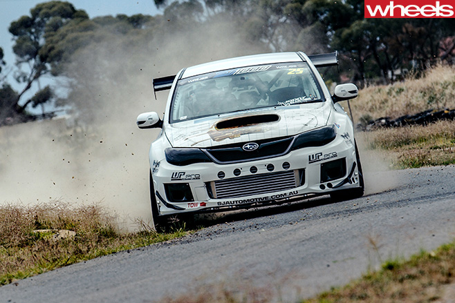 Subaru -WRX-1000hp -car -driving