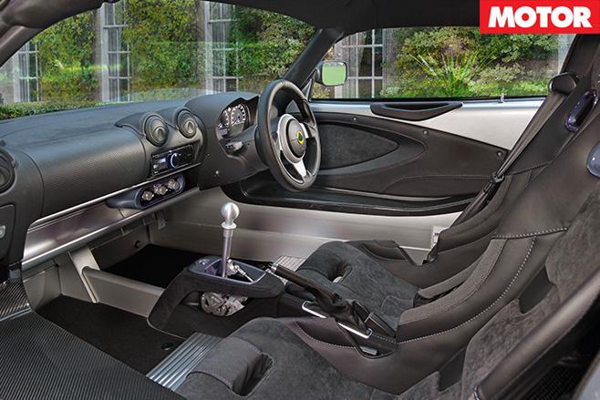 2017 Lotus Exige Sport 380 interior