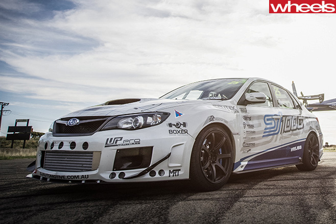 Subaru -WRX-1000hp -front -side
