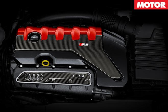 2017 Audi RS3 Sportback engine