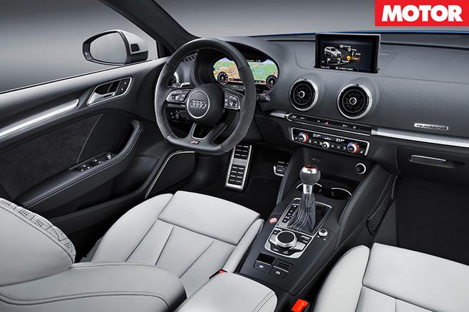2017 Audi RS3 Sportback interior