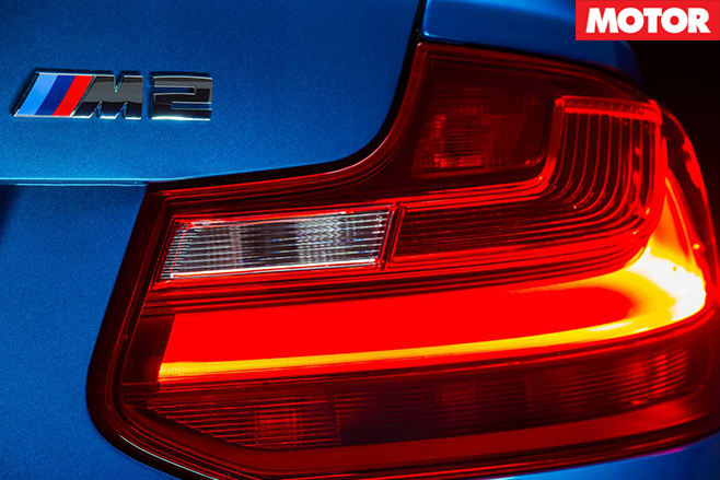 BMW M2 badge