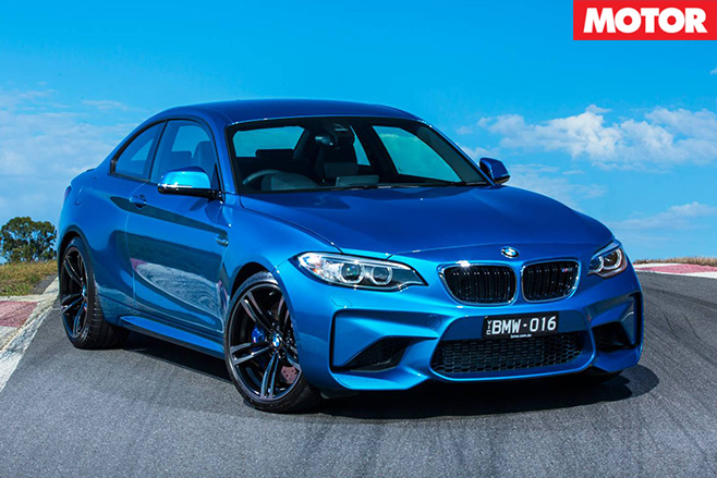 BMW M2 front