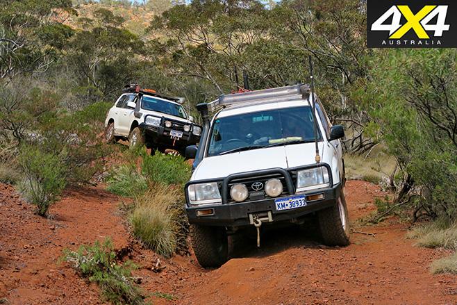 Tough 4WD trails